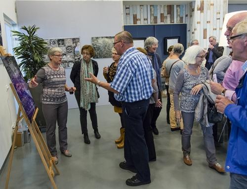 Expositie bij KunstGein Podium